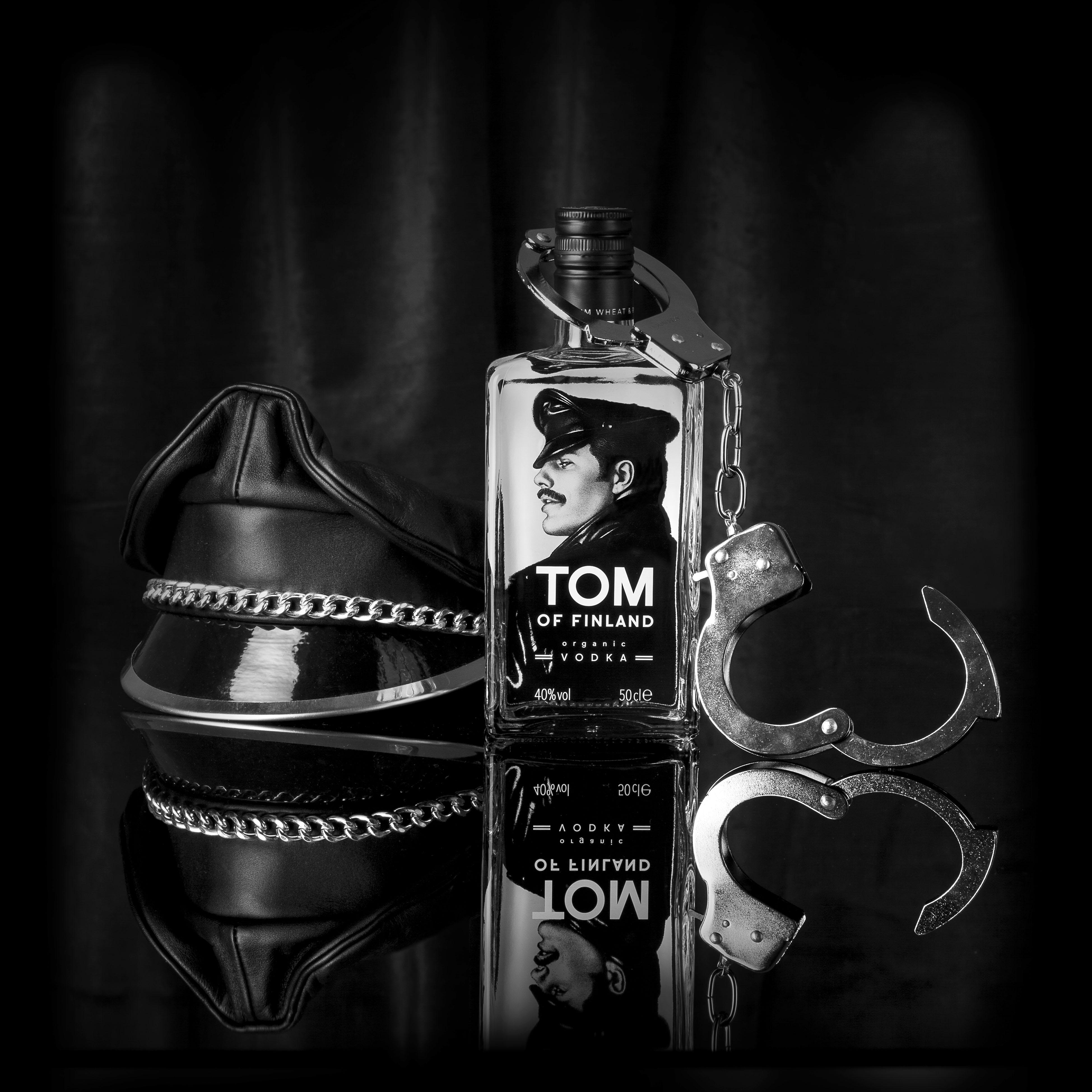 Tom of Finland vodka; ode aan een icoon!