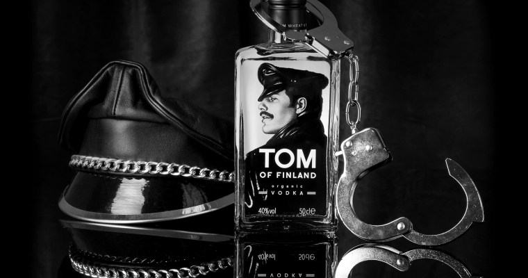 Tom of Finland vodka; ode aan een icoon!