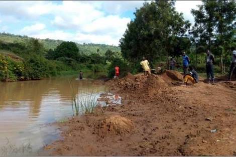 sand harvesting banned in Kitui county