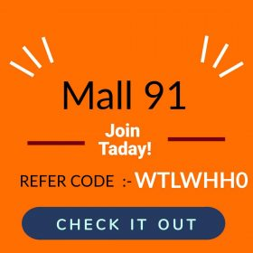 Read more about the article Mall91 App Kya Hai , Mall91  App से Online  पैसे कैसे कमाएं  (how to earn Best Income from mall91 App)