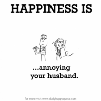 Finally a Husband's point of view