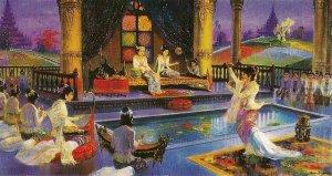 Prince Siddhattha and Princess Yasodhara's marriage by Hintha