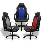 Details About Executive Office Chair Racing Gaming Chair Swivel Recliner Computer Desk Leather