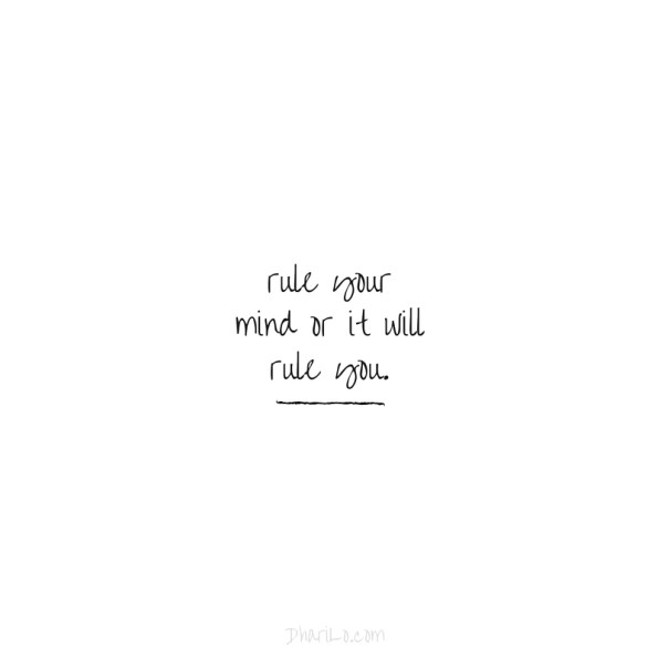 Rule Your Mind - DhariLo