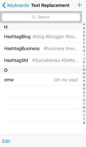 Dharilo - Text replacement for hashtag list 0