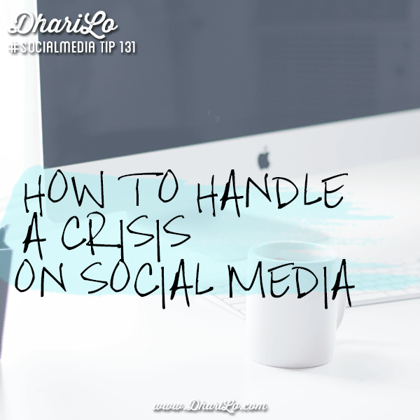 The Basics on How to Handle A Business Crisis On Social Media