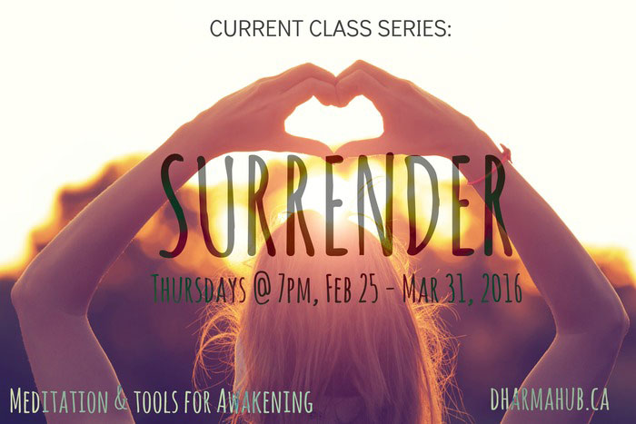 Surrender Meditation in Calgary
