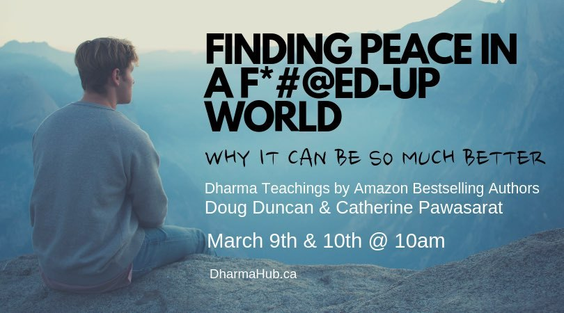 finding peace talk banner