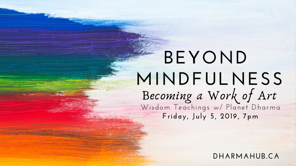Dharma Talk in Calgary July 5 2019
