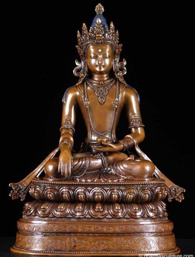 Bhumisparsha Mudra Shakyamuni Buddha Statue