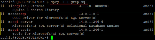 Odbc Ubuntu
