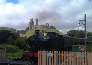 Paul Jackman Steam train Corfe