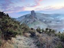 Winter Solstice Corfe Castle, Dorset