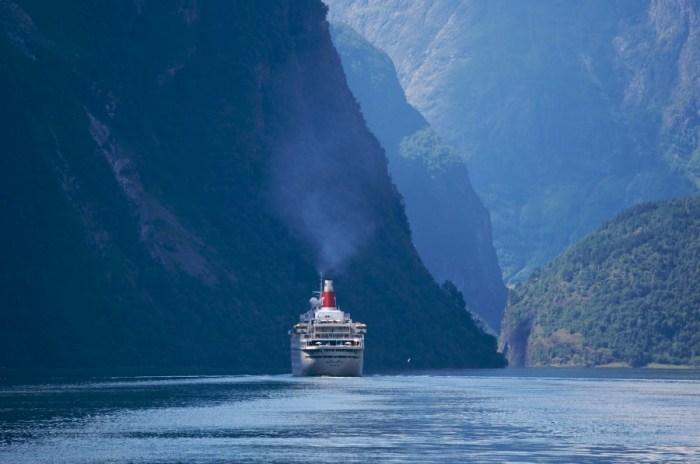 Expressboot-Fahrt Lavik - Flam