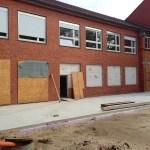 Mensabau Gymnasium am Wall Verden: Status am 05.05.2014