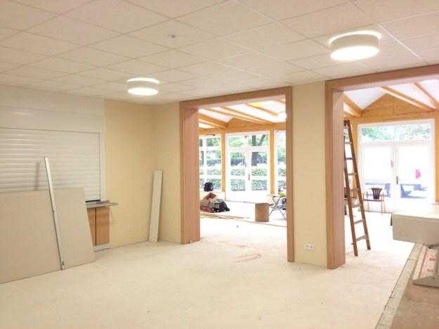 Mensabau Gymnasium am Wall Verden: Status am 25.09.2014