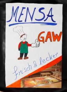 Plakat Mensa am GaW - Lisa Schulz