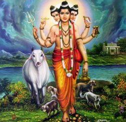 Dattatreya Dhyana Mantra