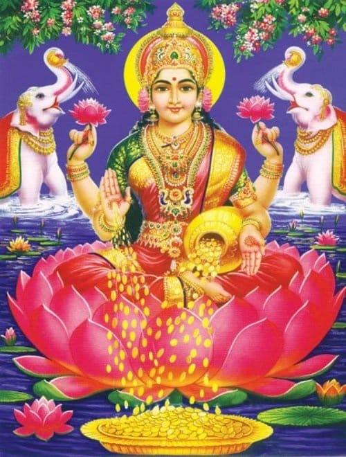 Dhanalakshmi Gayatri Mantra - Dhevee org