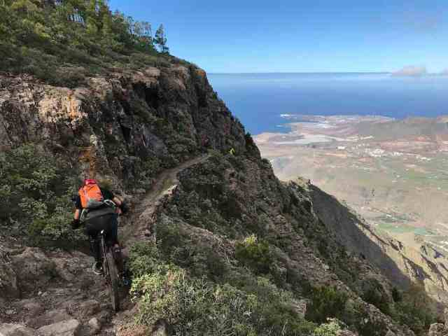Mountain Bike Enduro Tours Gran Canaria