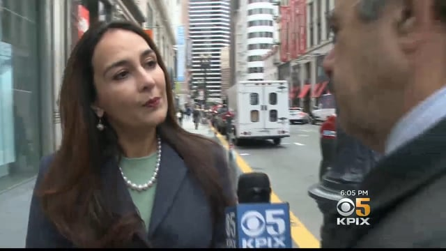 Harmeet Dhillon interviewed by KPIX reporter - Dhillon Law Group