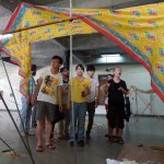 Associate Professor Jun Sato's pavilion workshop