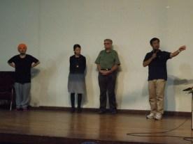 From left: Assist. Prof. Ko Nakamura, The University of Tokyo, Beverly Choe, lecturer, Stanford University, Prof. Howard Davis, Oregon University, Assoc. Prof. Teppei Fujiwara, Yokohama National University