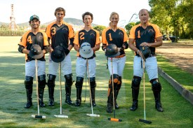 Andreas and Tatiana BIHRER team, Eleven Eleven achieved third place at the Maharaja Ranjit Singh Cup 2015