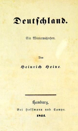 Lemo Bestand Objekt Heinrich Heine Quot Deutschland Ein