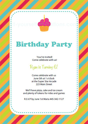How To Create Birthday Invitation Cards On Whats