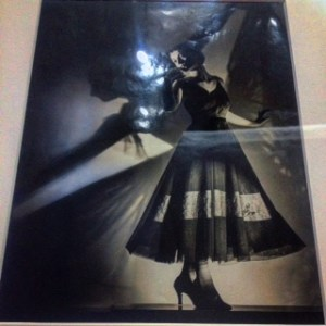 Shadow of Ballet Dancer 1938 silver gelatin photograph