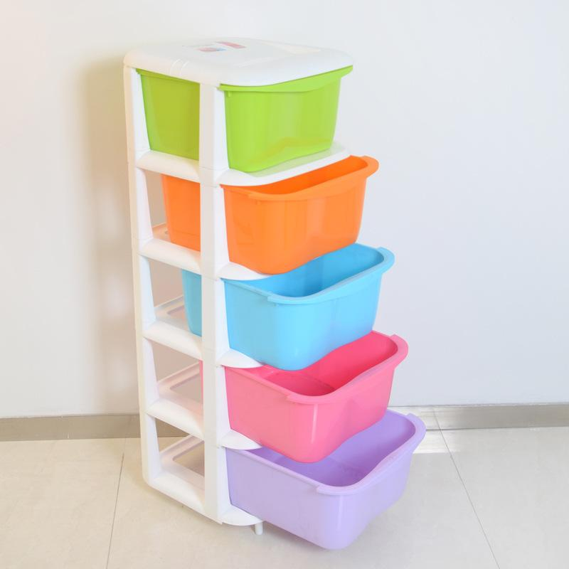 خزانات التخزين البلاستيك خمسة أدراج خزائن خزانة غرفة نوم الأطفال الحلوى الملونة منظمة ملابس الطفل 2021 من Zhoudan5246 429 21ر س موبايل Dhgate