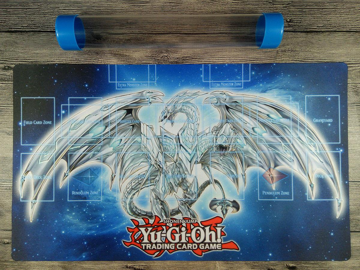 grosshandel yugioh neo blue eyes ultimative dragon link zonen playmat regel 4 tcg mat free tube von stxu 21 38 auf de dhgate com dhgate