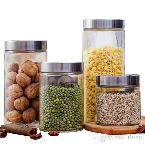 acheter cuisine boite de rangement etancheite des aliments preservation vitrage pot fresh conteneur organisateur outil propose meubles maison simple