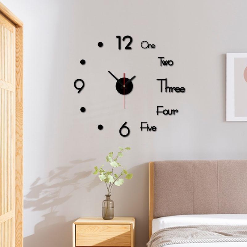 3d Wall Clock Mirror Wall Stickers Creative Diy Clocks Removable Art Decal Sticker Home Decor Living Room Quartz Needle Hot Unusual Large Wall Clocks Unusual Wall Clock From Qiansuning88 70 04 Dhgate Com