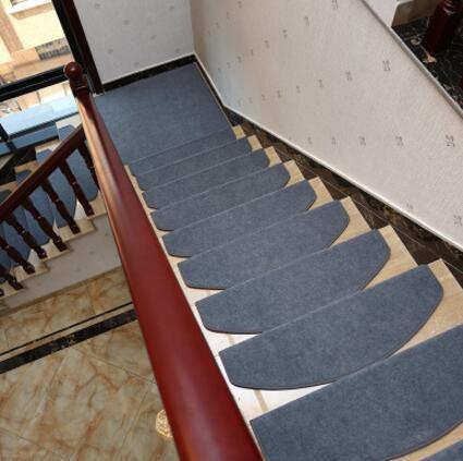 Stair Carpets Set Slip Resistance Soft Stair Tread Mats Anti Slip   Stair Carpet Fitting Cost   Hardwood   Stair Treads   Laminate Flooring   Wood   Berber Carpet Runner