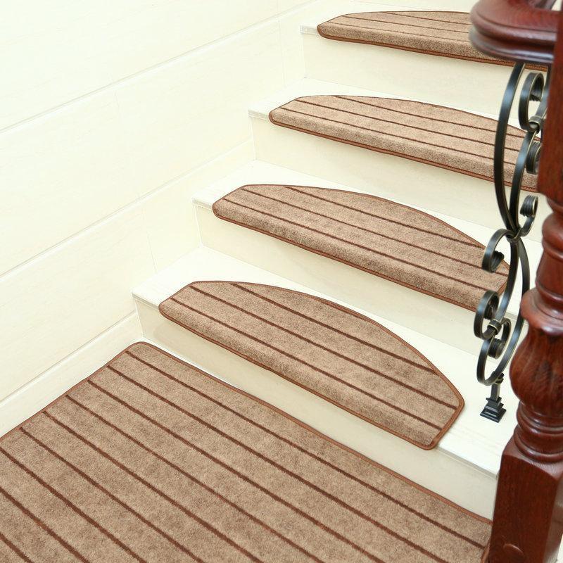 Carpet Adhesive Carpet Stair Treads Mat Rug Non Slip Cover   Cheap Carpet Stair Treads   True Bullnose   Hallway Carpet   Carpet Runners   Slip Resistant   Bullnose Carpet