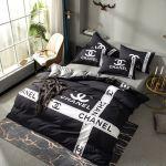 C C Luxury Bedding Sets Black Designer Duvet Cover Set Cotton Designer Bed Sheets Queen Size Bed Sets Designer Bedding Leopard Bedding Discount Comforter Sets From Designer Home 104 16 Dhgate Com