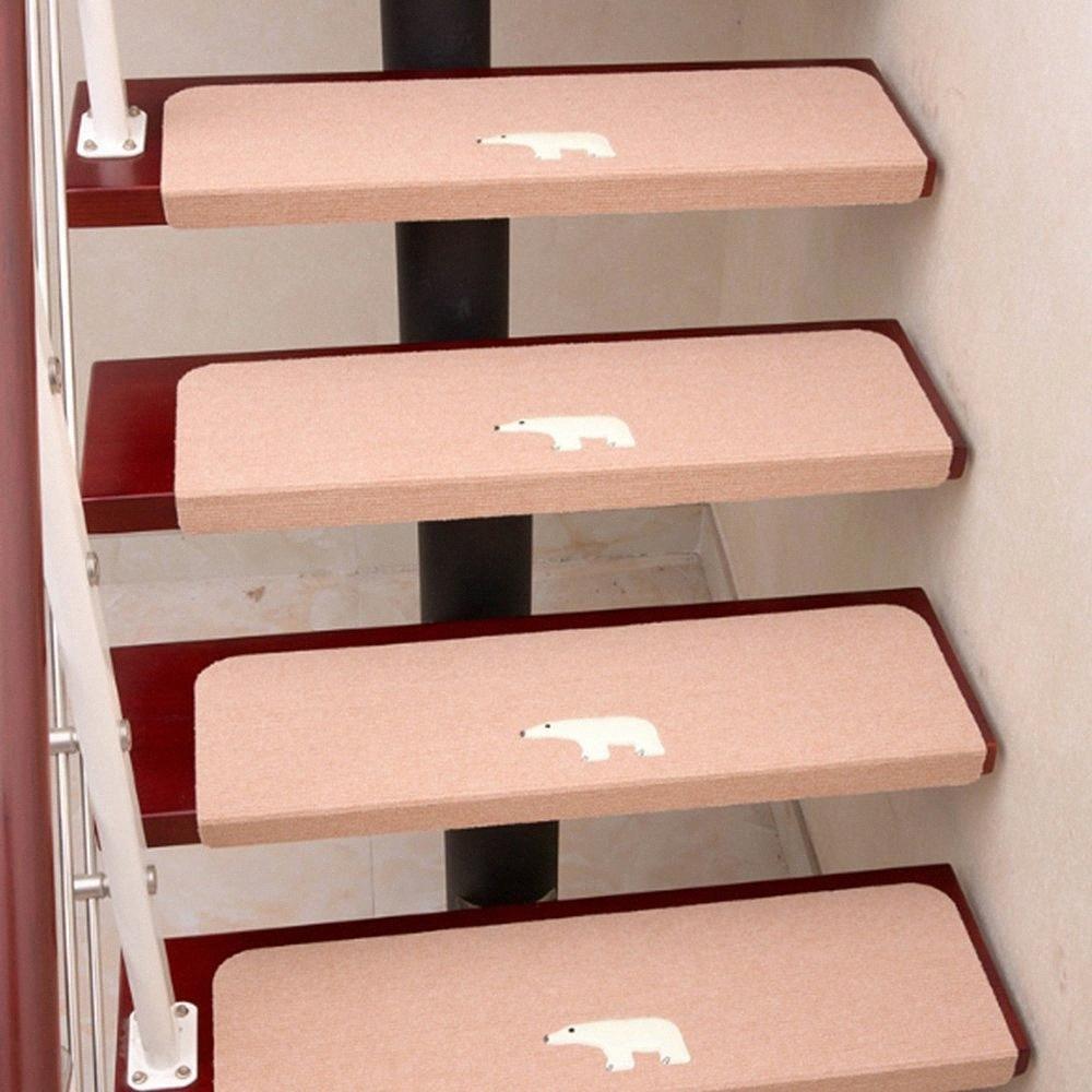Carpet Stair Treads Non Slip Luminous Floor Covers Step Mats | Non Slip Stair Treads Carpet | Self Adhesive | Slip Resistant Rubber Backing | Step | Semi Circle | Adhesive Padding