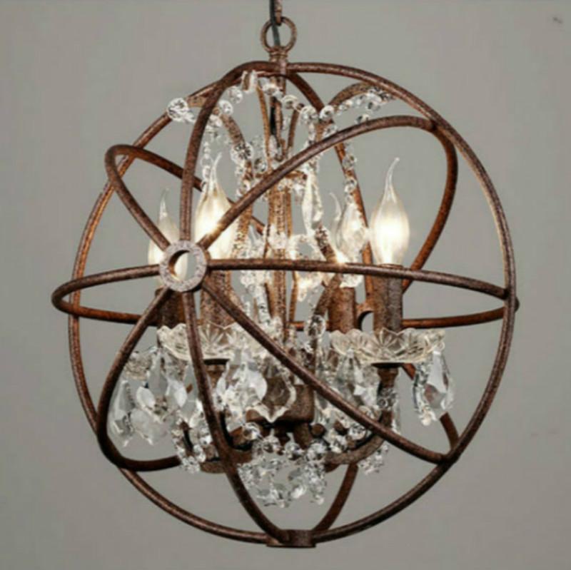 grosshandel rh industrielle beleuchtung restoration hardware vintage kristall kronleuchter pendelleuchte foucault eisen orb kronleuchter rustikal eisen