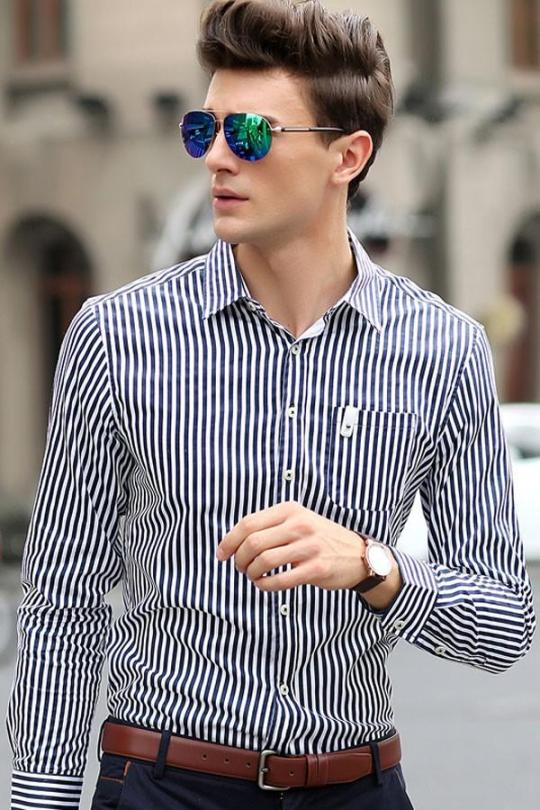 7 Risk-free Ways to Change Your Look -Get some shirts with patterns