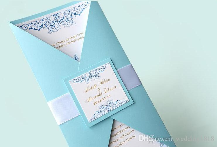 Cheap And Easy Wedding Invitations