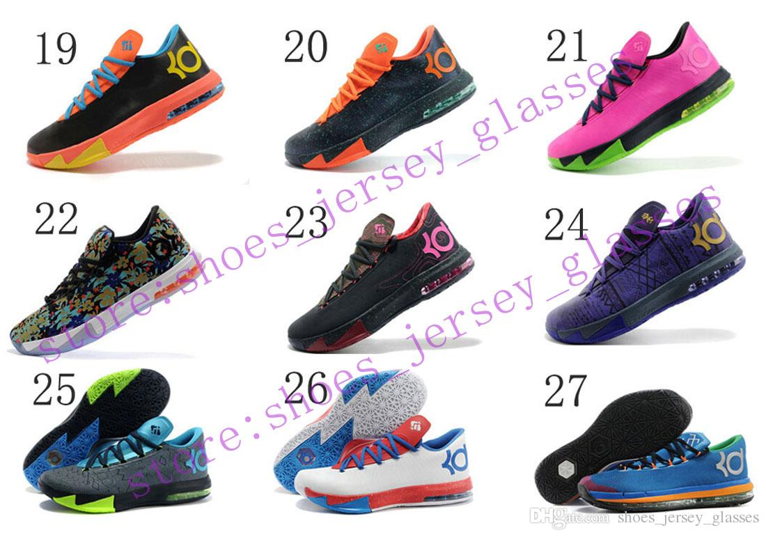 Kd6 Black Durant And Shoes Kevin White