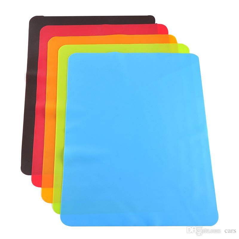 acheter 40x30cm tapis silicone liner de cuisson en silicone four meilleure isolation thermique tapis tapis bakeware kid table mat de 1 78 du cars