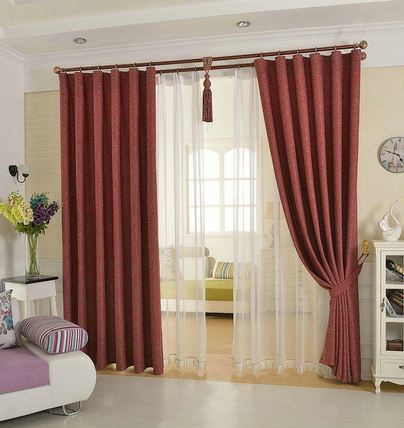 acheter solide couleur lin rideau match gratuit respirant environnement protection pour salon chambre linge tulle pour fenetre decorer de 13 45 du