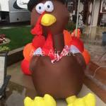 2019 Accept Customized Size Thanksgiving Giant Inflatable Turkey For Festival Decoration From Brandaceairart 470 36 Dhgate Com