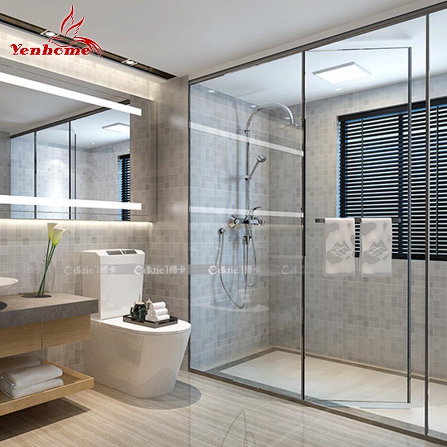 modern pvc wall sticker bathroom