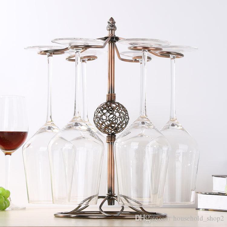 acheter porte verres a vin cuisine bar coupe a vin support suspendu presentoir a gobelet en metal presentoir pour tasse a boire de 11 38 du
