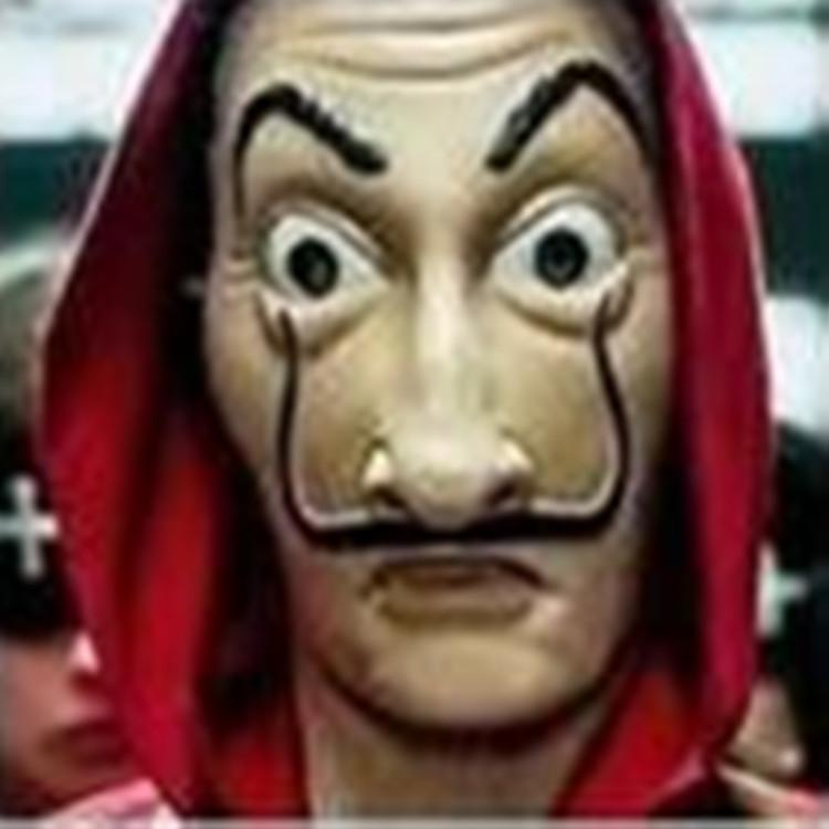 Acquista Salvador Dali Cosplay Movie Mask Money Heist La Casa Di Carta La Casa De Papel Cosplay Maschera Viso A 174 Dal Ajer82111 Dhgatecom