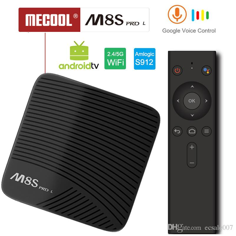 MECOOL M8S PRO L Android TV OS 1080P 3GB/32GB YouTube 4K TV Box